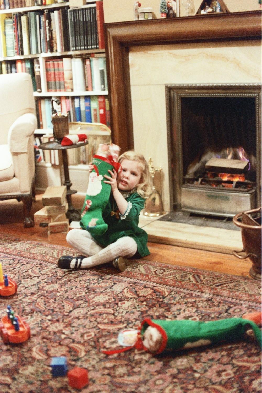 Amy Shearer in 1978 in Woodford