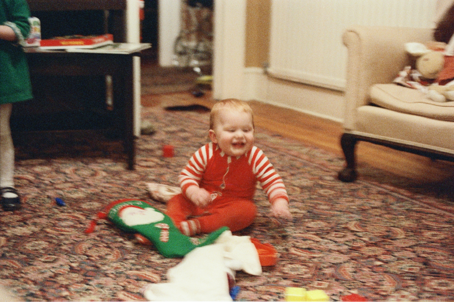 Ed Shearer, Christmas 1978, Woodford, London