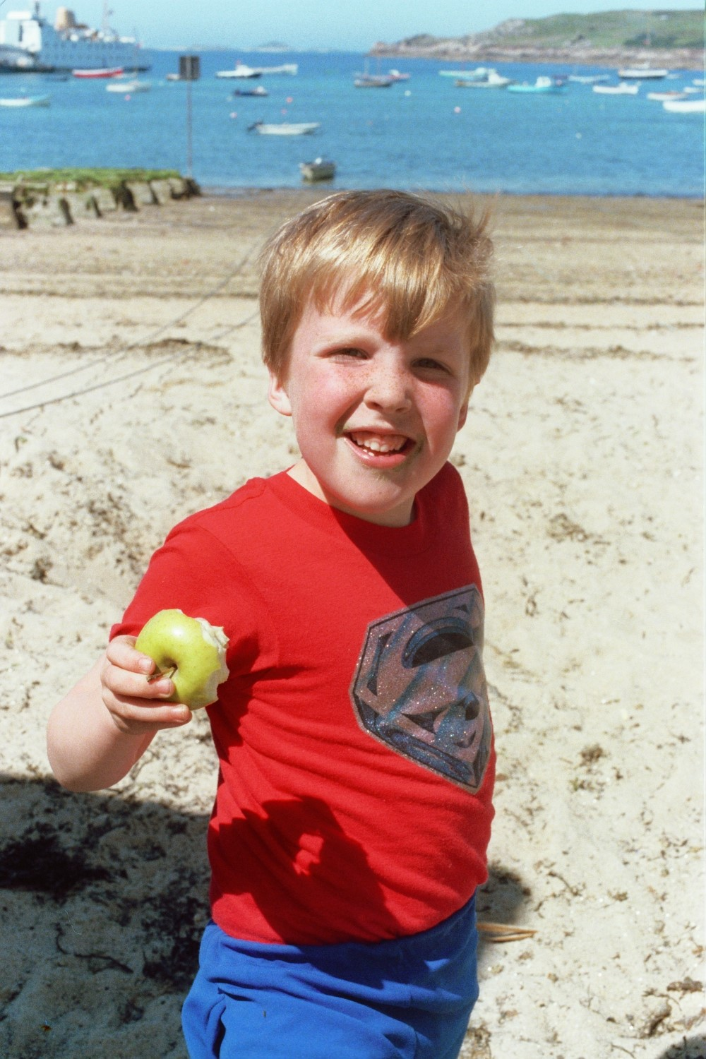 Matt Shearer on the Beach in 1979