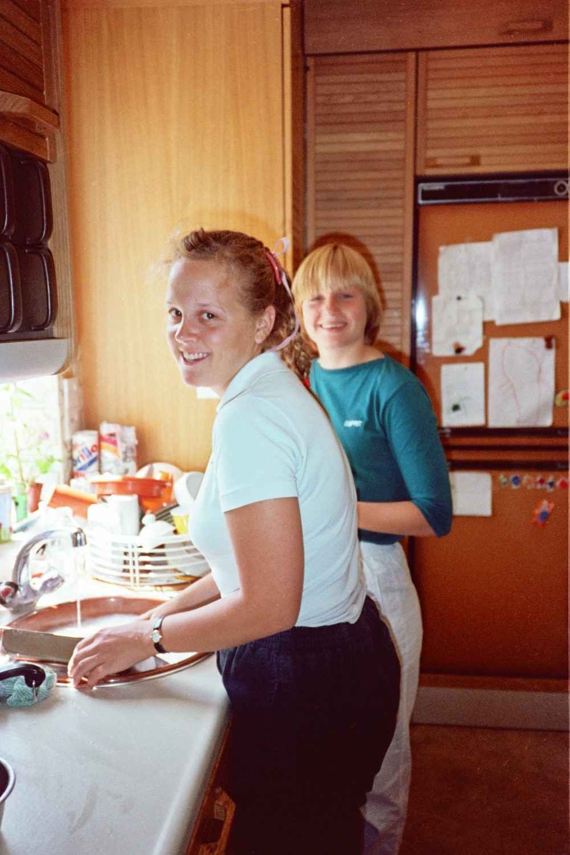 Suzie Tuescher and Bridgit Tuescher