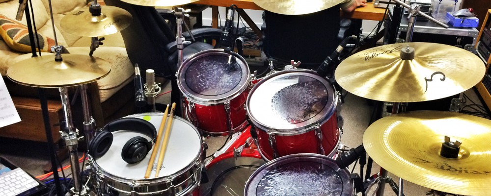Drums at NJA.me.uk - Niall John Acott Audio Productions Ltd