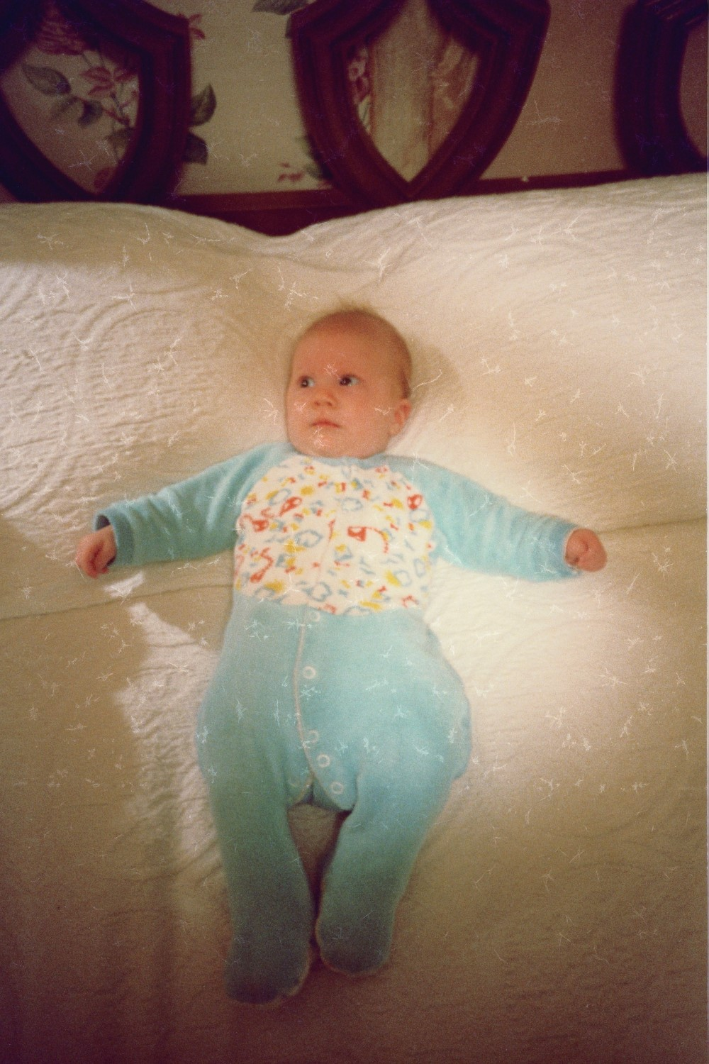 Virginia Shearer, as a baby
