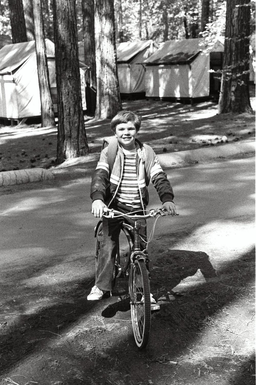 Russel Shearer in Yosemite.