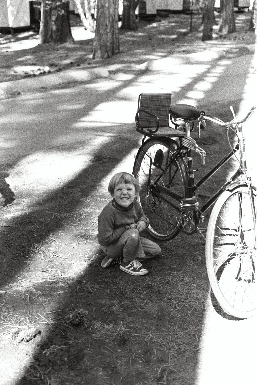 Matt Shearer in Yosemite, in the late 1970s. California USA
