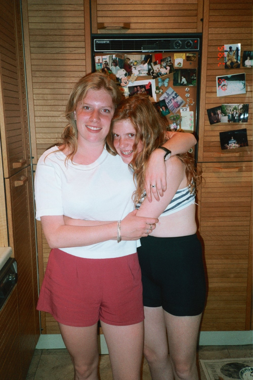 Amy Shearer and Virginia Shearer in Summer 1995