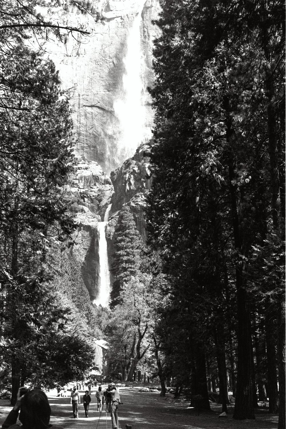 Yosemite, in the late 1970s. California USA