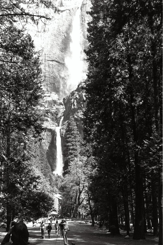 Yosemite, in the late 1970s. California USA