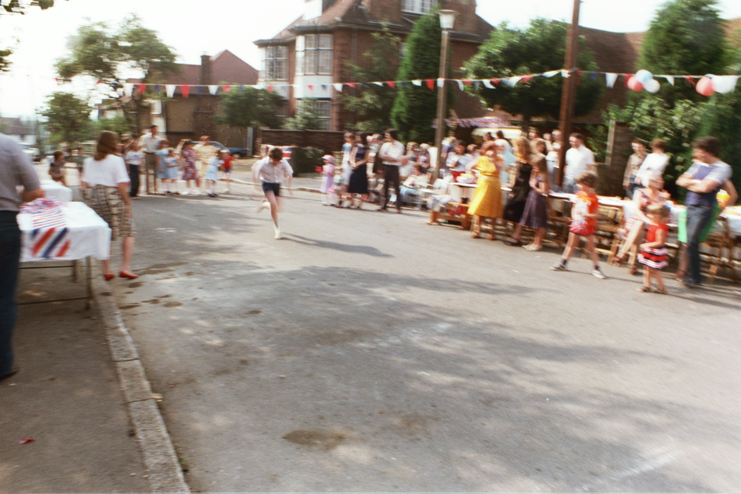 1981 Woodside Road Street Party for Charles & Dianna's Royal Wedding