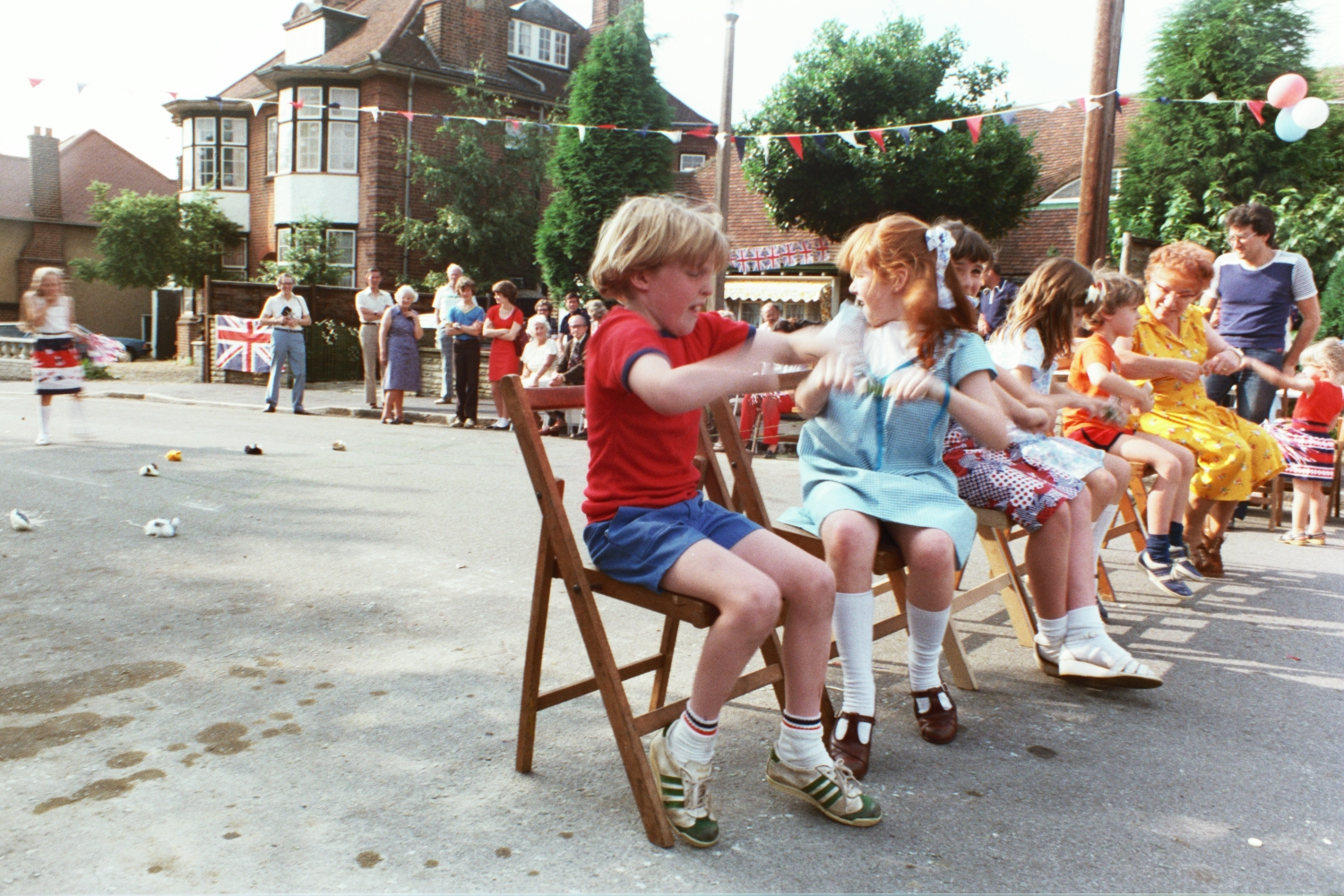 Matt Shearer at the 1981 Woodside Road Street Party for Charles & Dianna's Royal Wedding