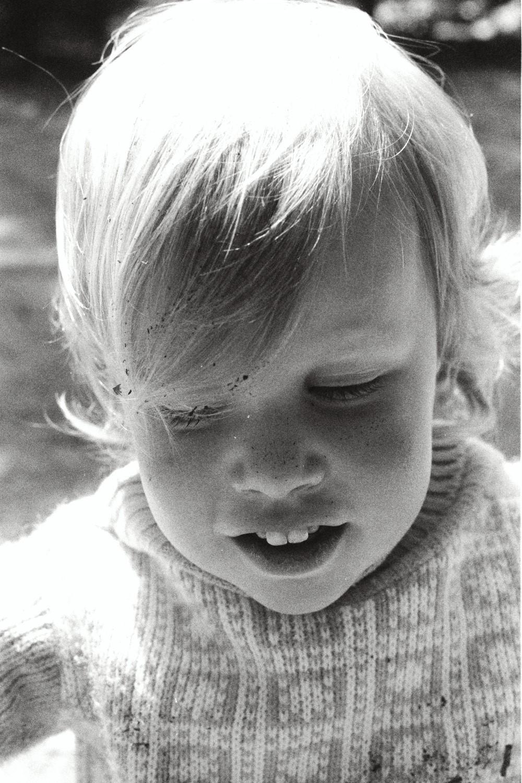 Amy Shearer in Yosemite in the late 1970s. California USA