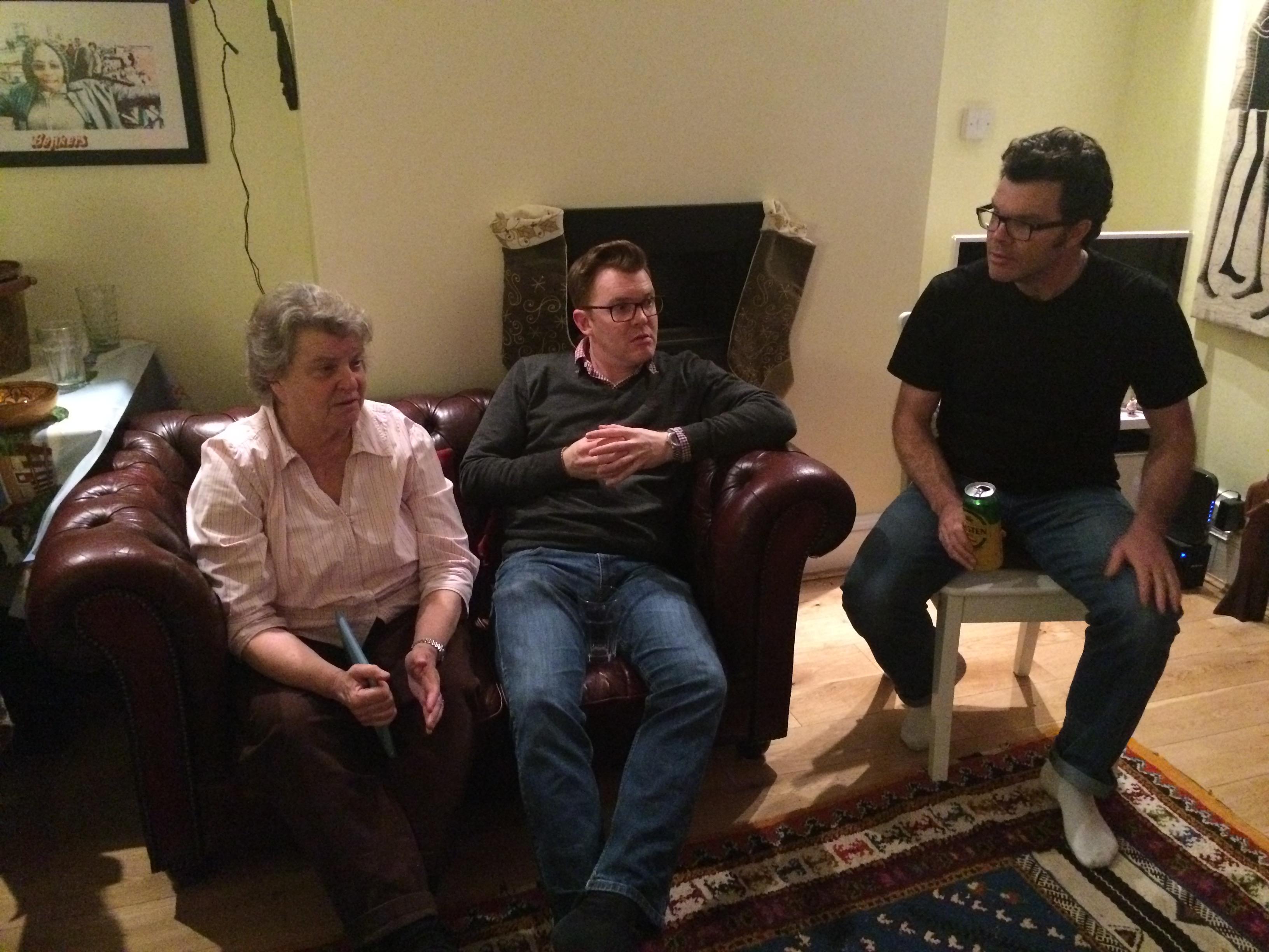 Lori, Ed and Russel Shearer