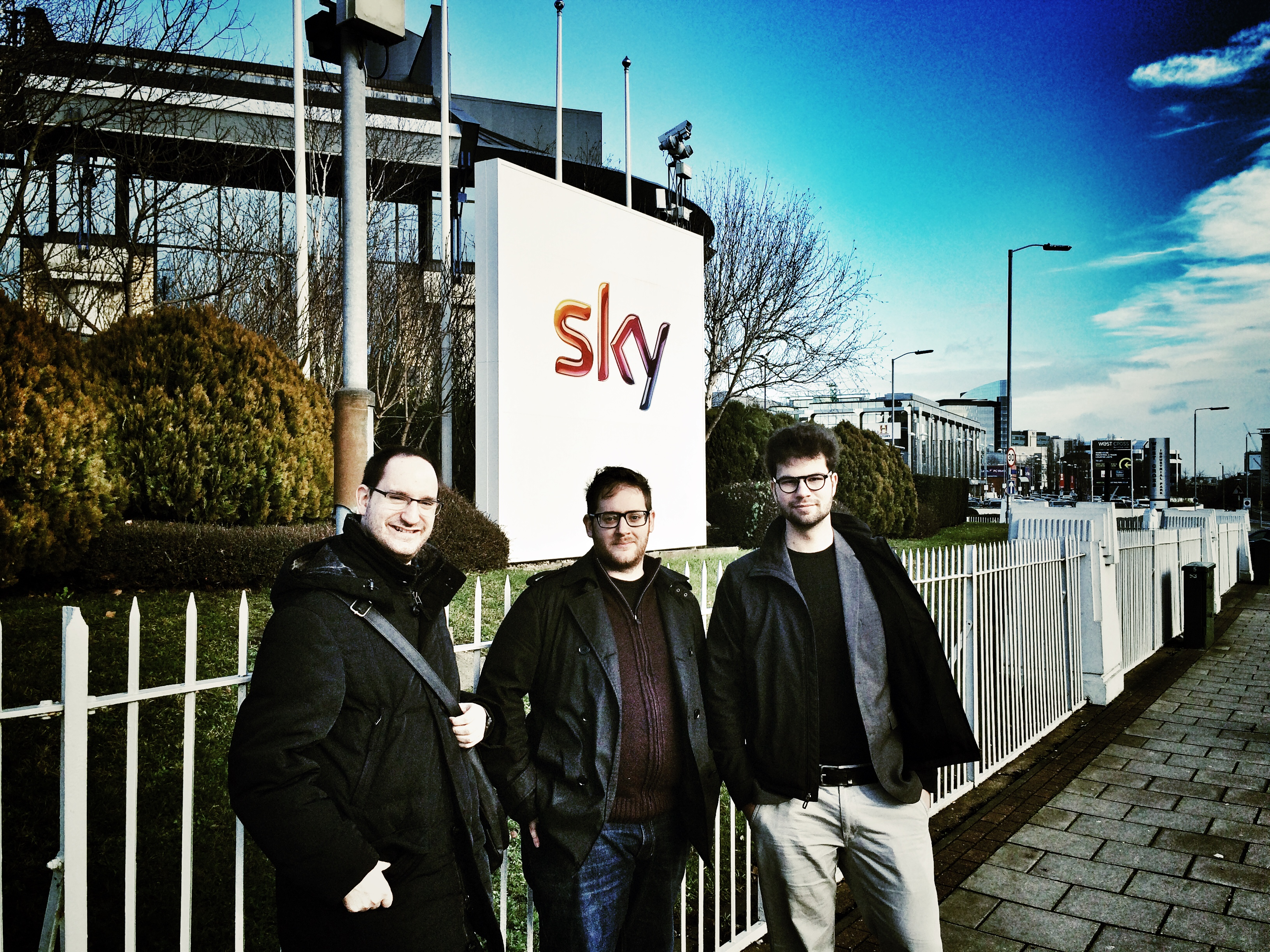 SKY NEWS - down in Osterly