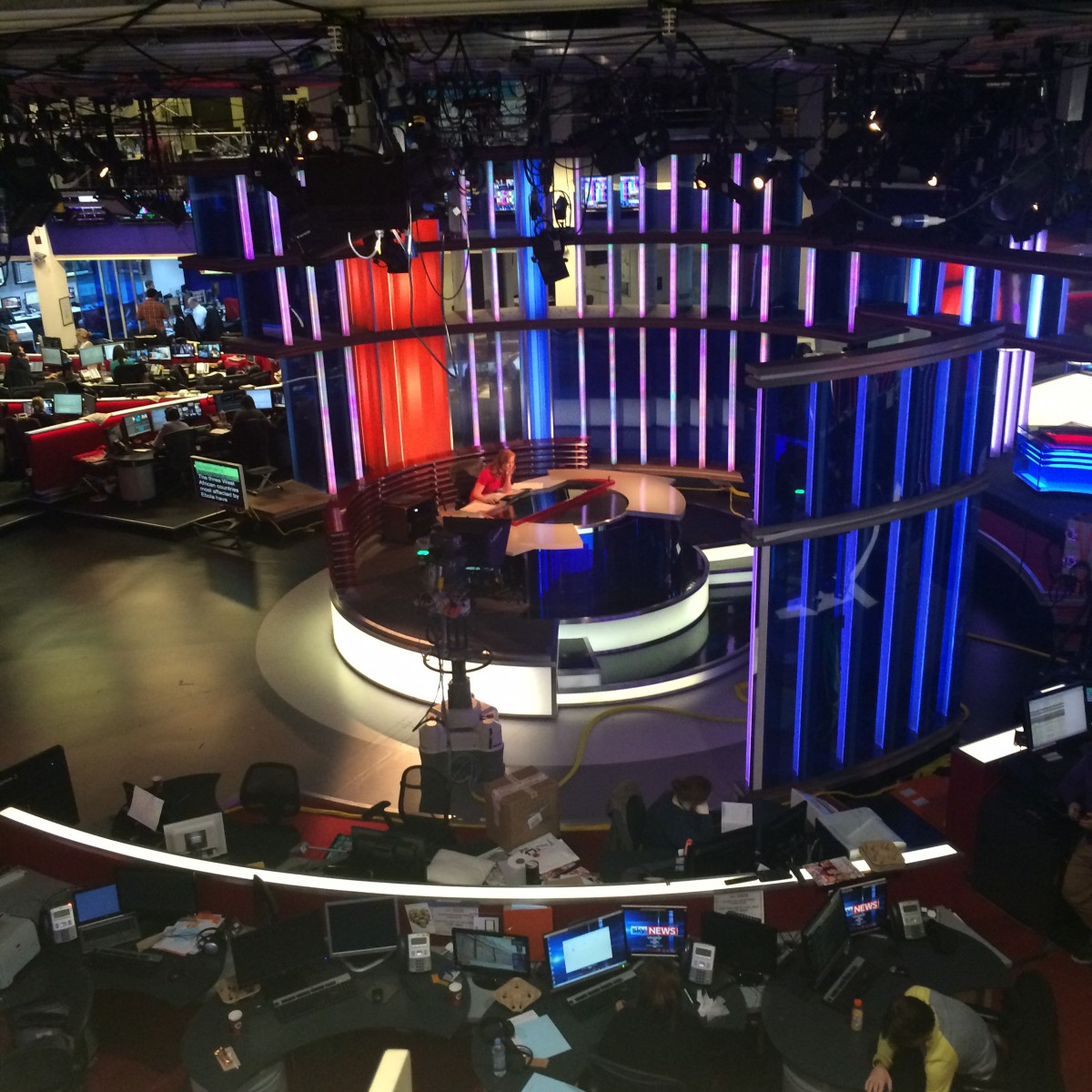 SKY NEWS - the newsroom