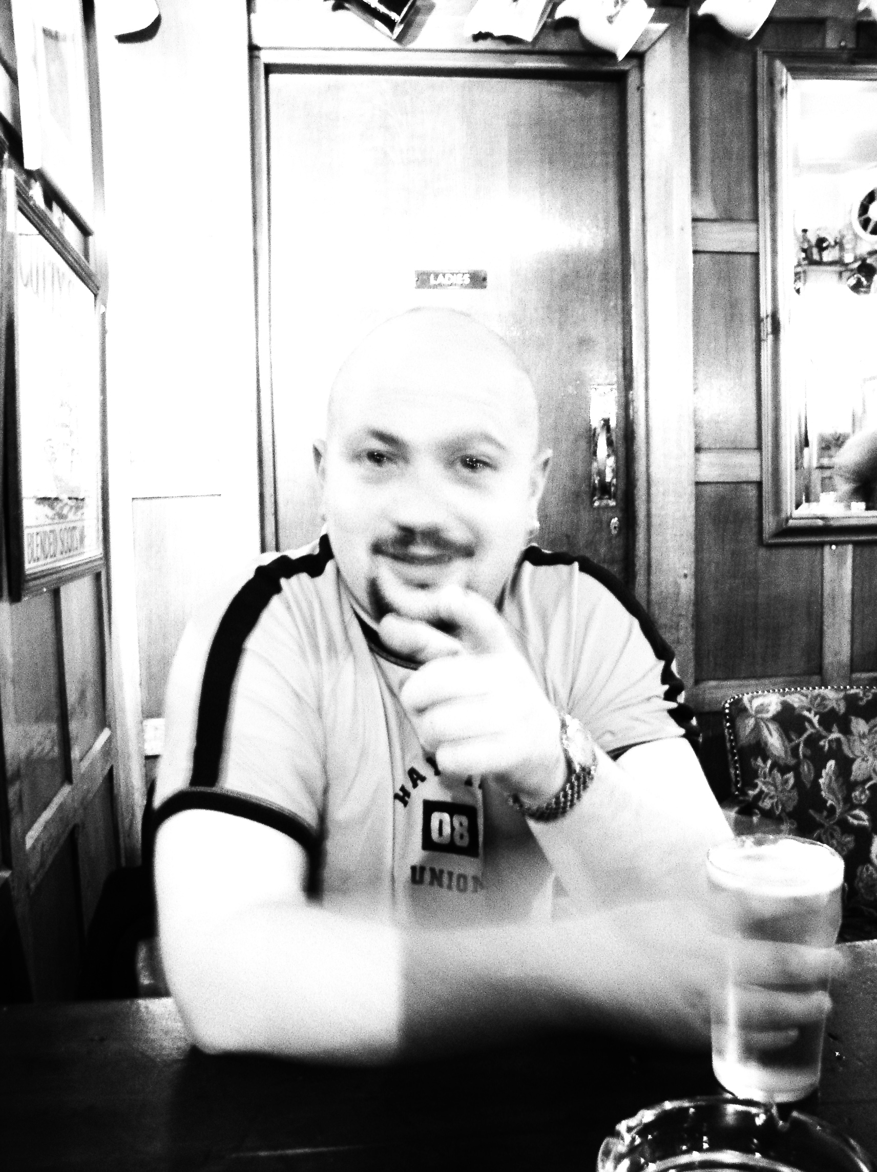 Ian Guest in Travellers Friend - SPIVS - in 2002