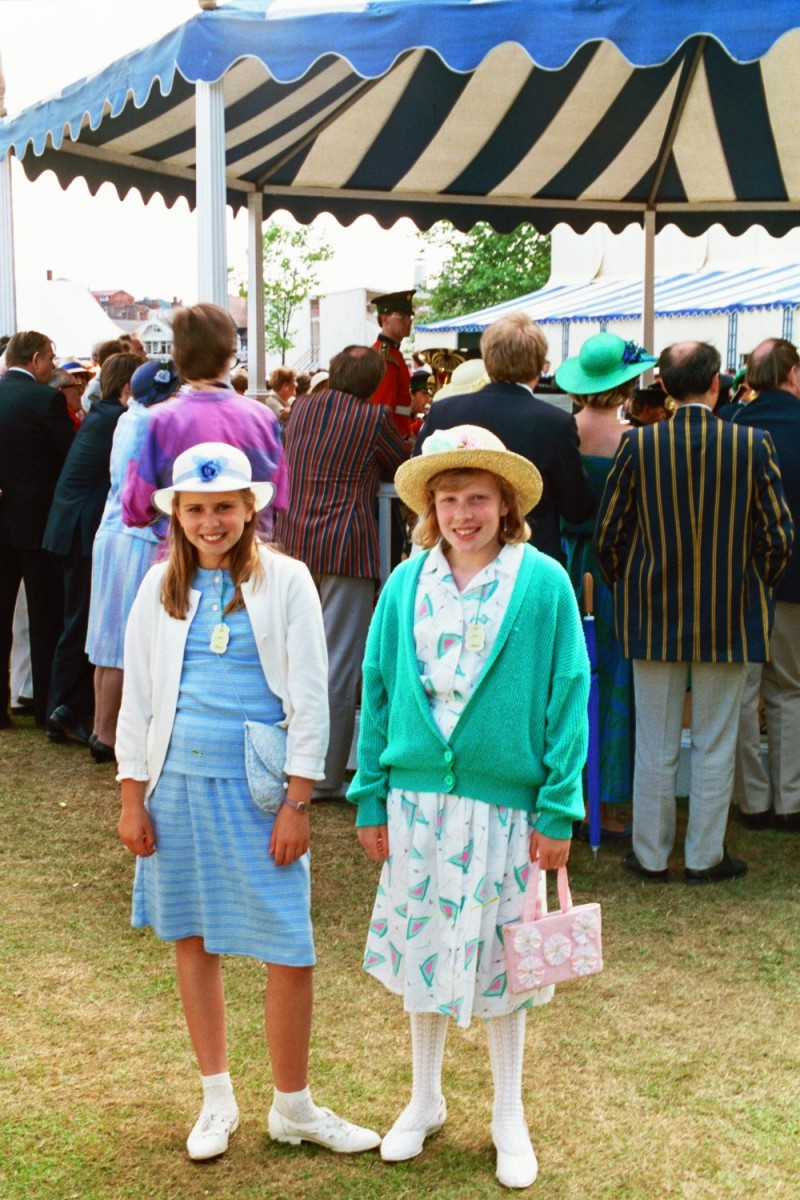 Amy Shearer and Katie Boon at Henley