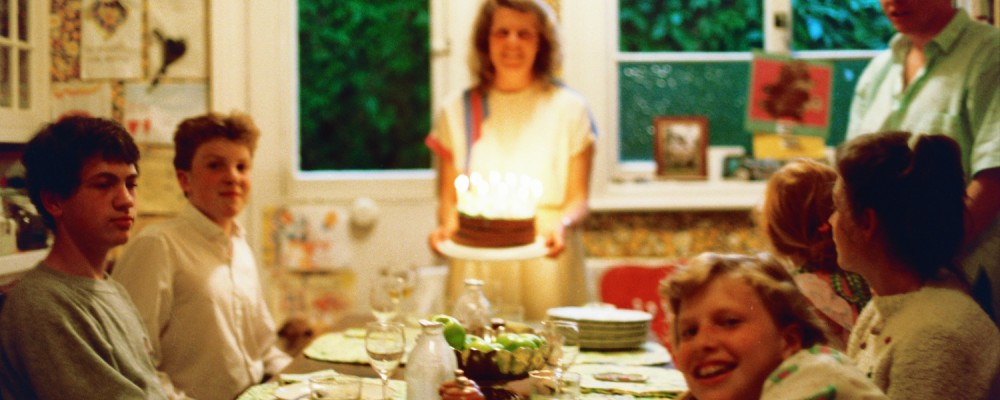 Lori Shearer, with Birthday Cake - plus Ian Guest