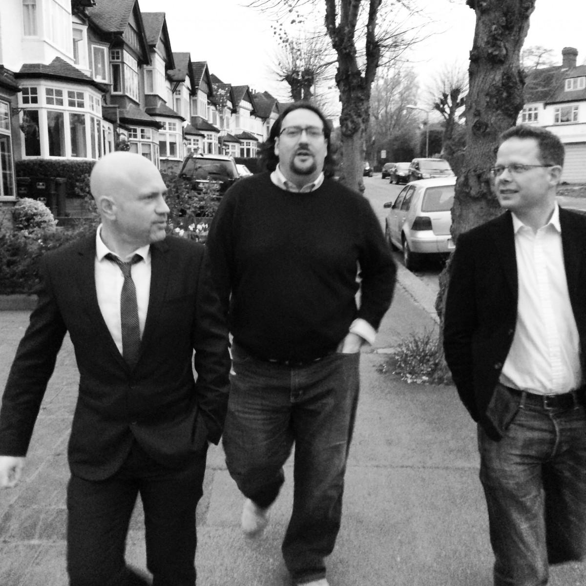 Ian Guest, Adam Drake and Andy Matthews