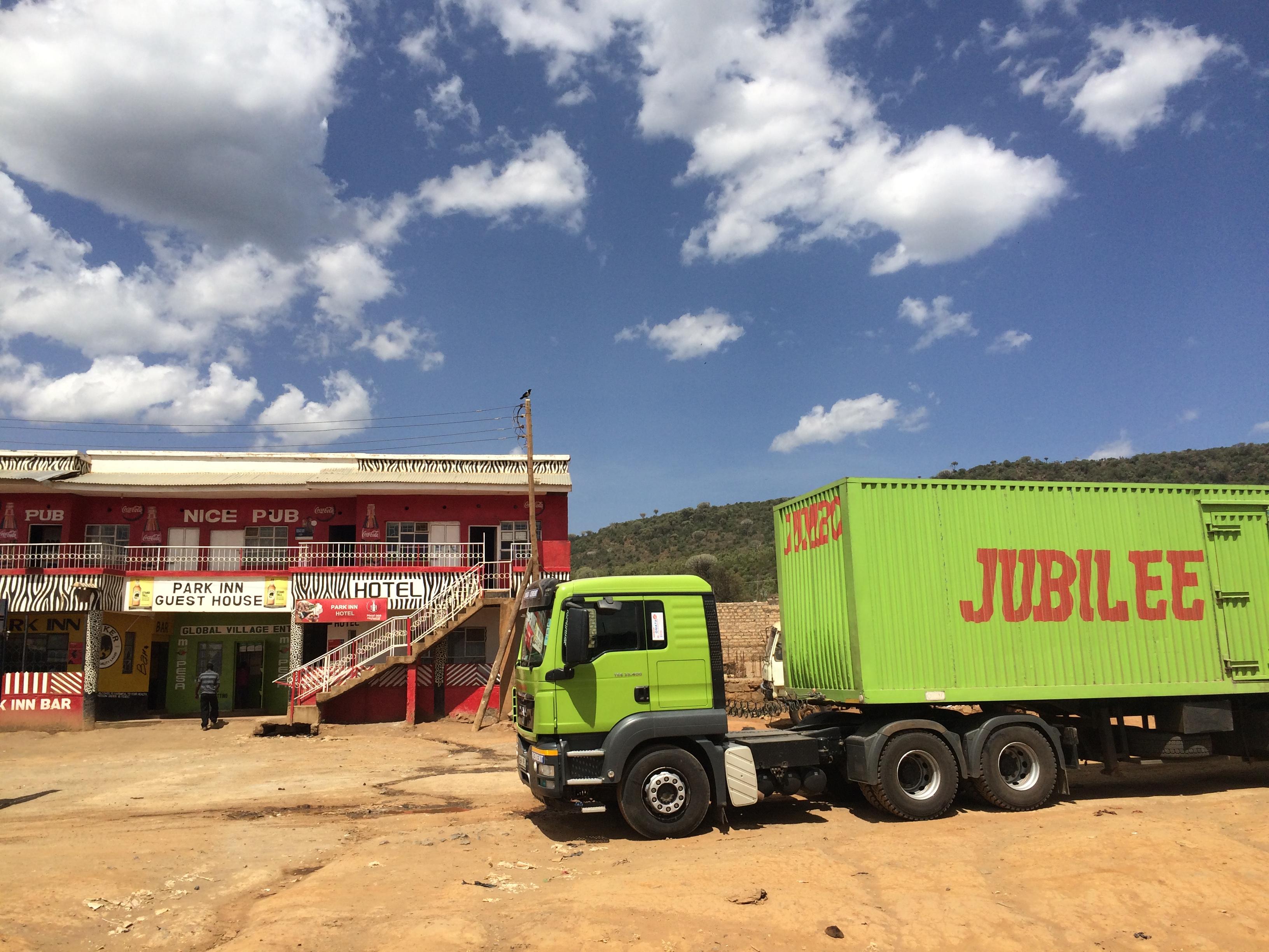 Truck in Kenya