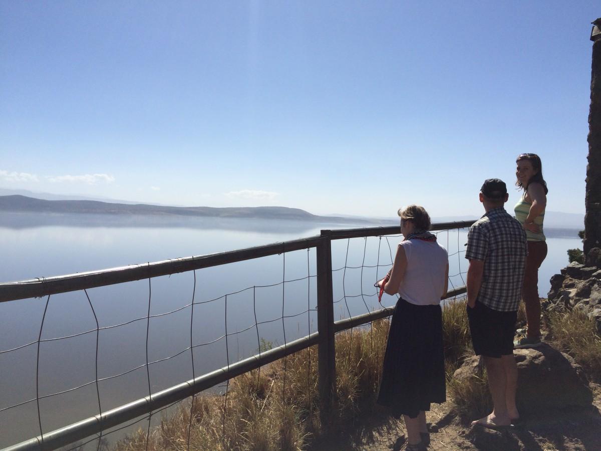 Lynsey Smith & Laura Harrison at Lake Nakuru, Kenya