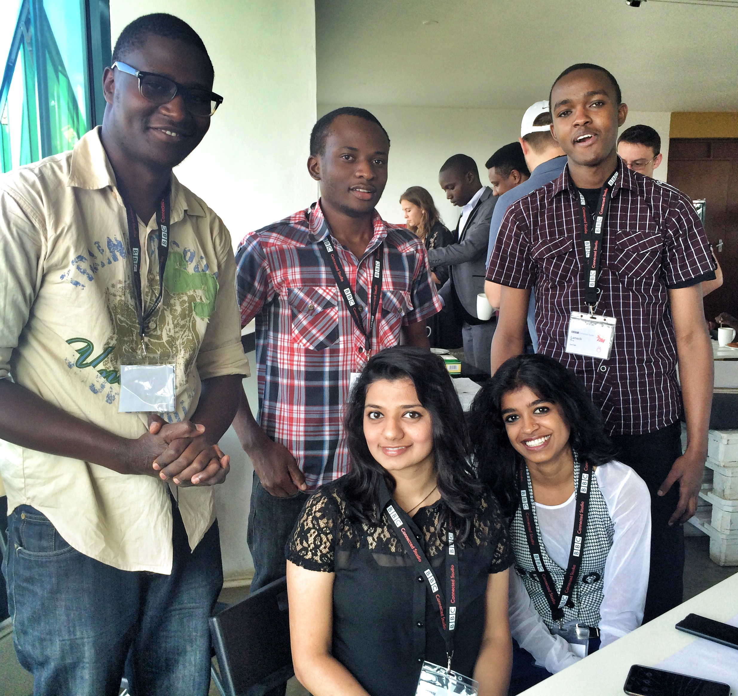 Team SIMTABI at Nairobi #newsHACK