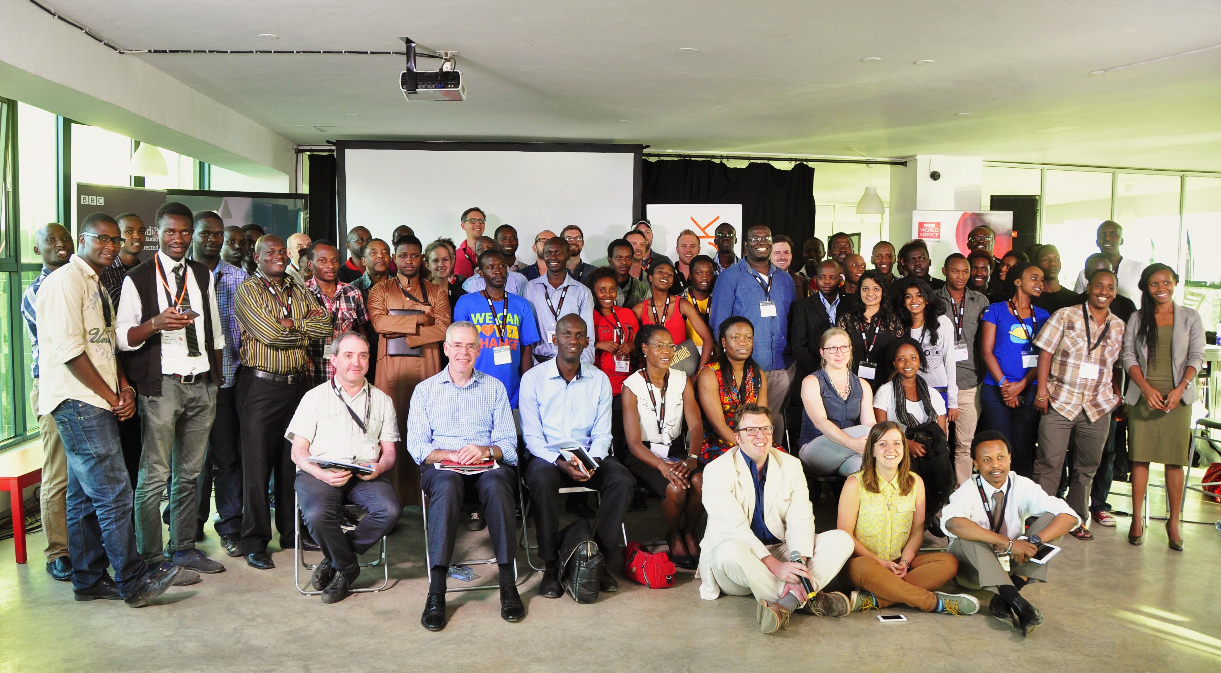 #newsHACK IV in Nairobi - BBC Connected Studio: World Service Africa - Nairobi