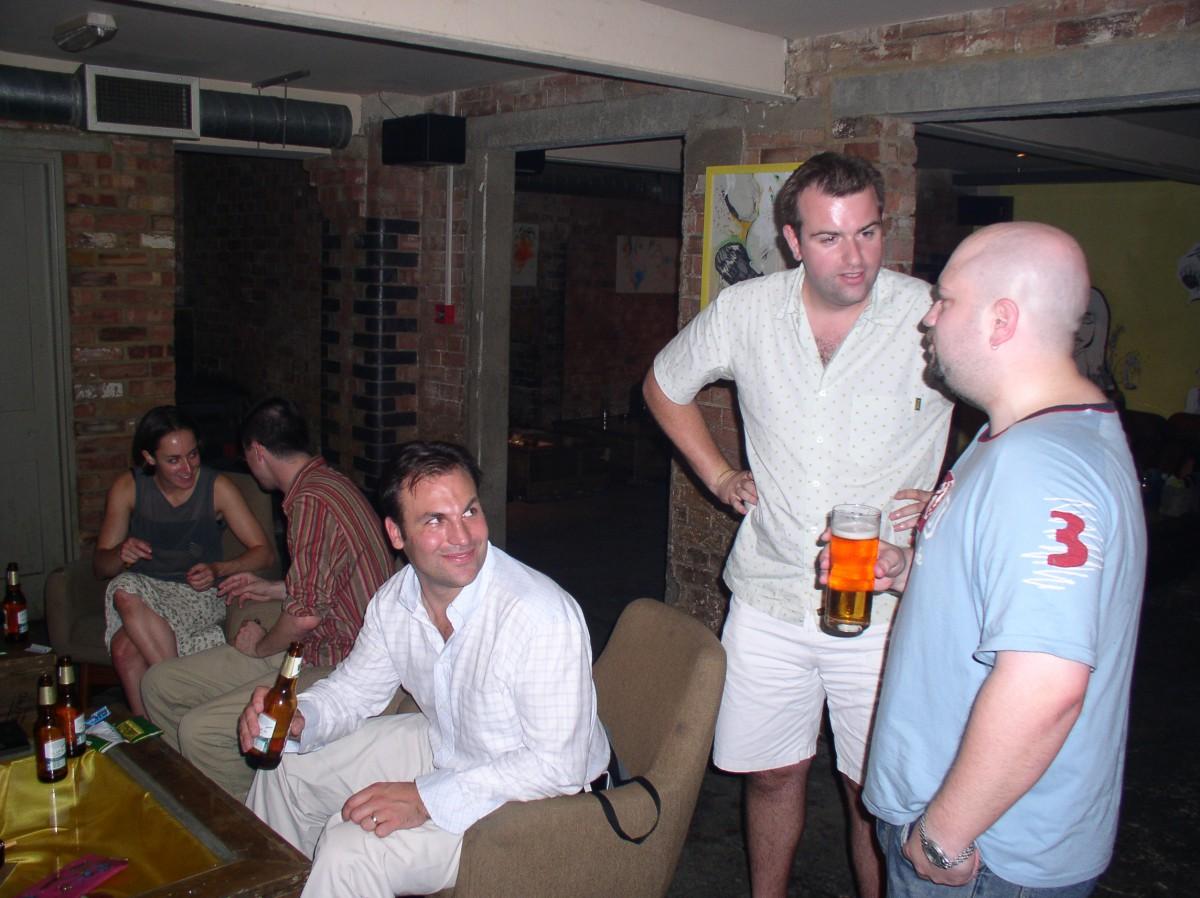 Jules Cork, Henry Mainwaring and Ian Guest
