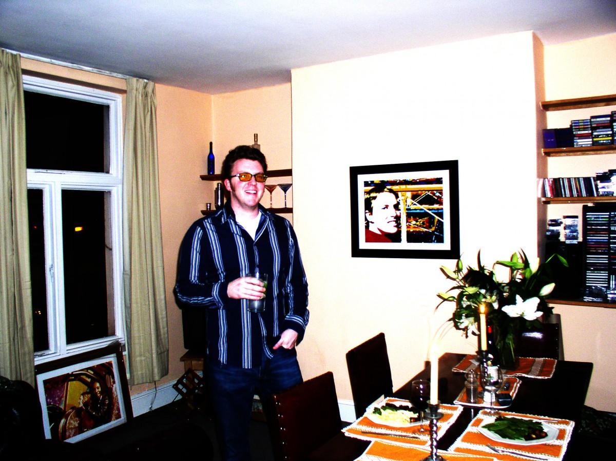 Matt Shearer in Highbury Barn