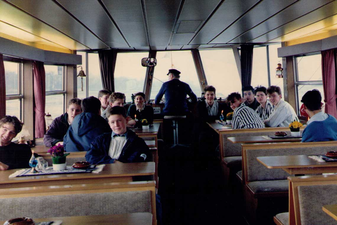 Boat Trip on the German Exchange, 1988
