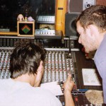 Eddy Pittson and Mark Sutherland at Cafe Music Studios, London