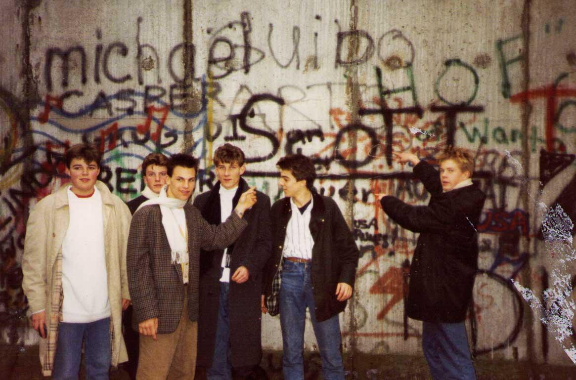 Oundle School - Trip to Berlin - Berlin Wall 1988