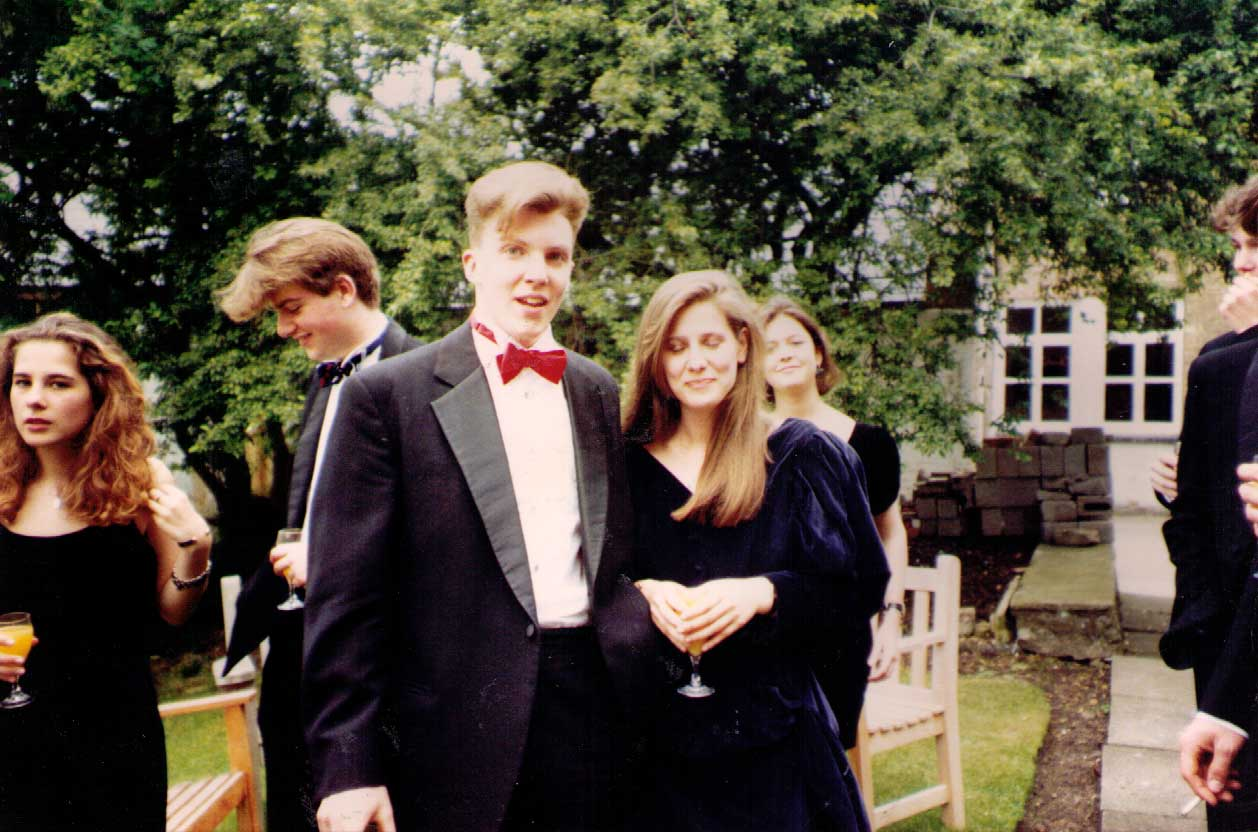 Matt Shearer and Patricia Coelho, 1991