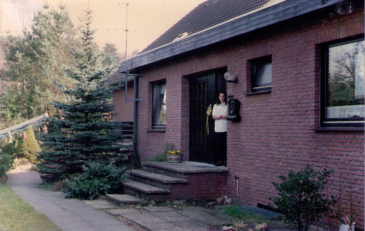 Melanie Neubecker, my German Exchange, 1988, Hamburg