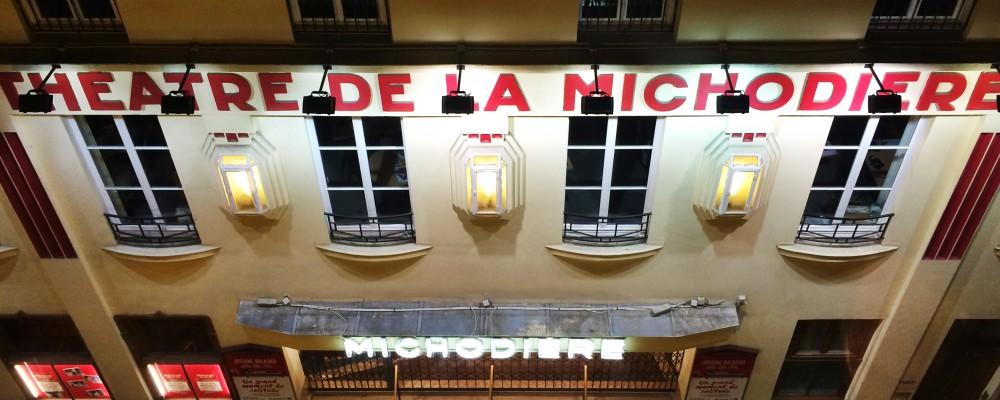 Theatre de la Michodiere - Rue de la Michodiere, Paris