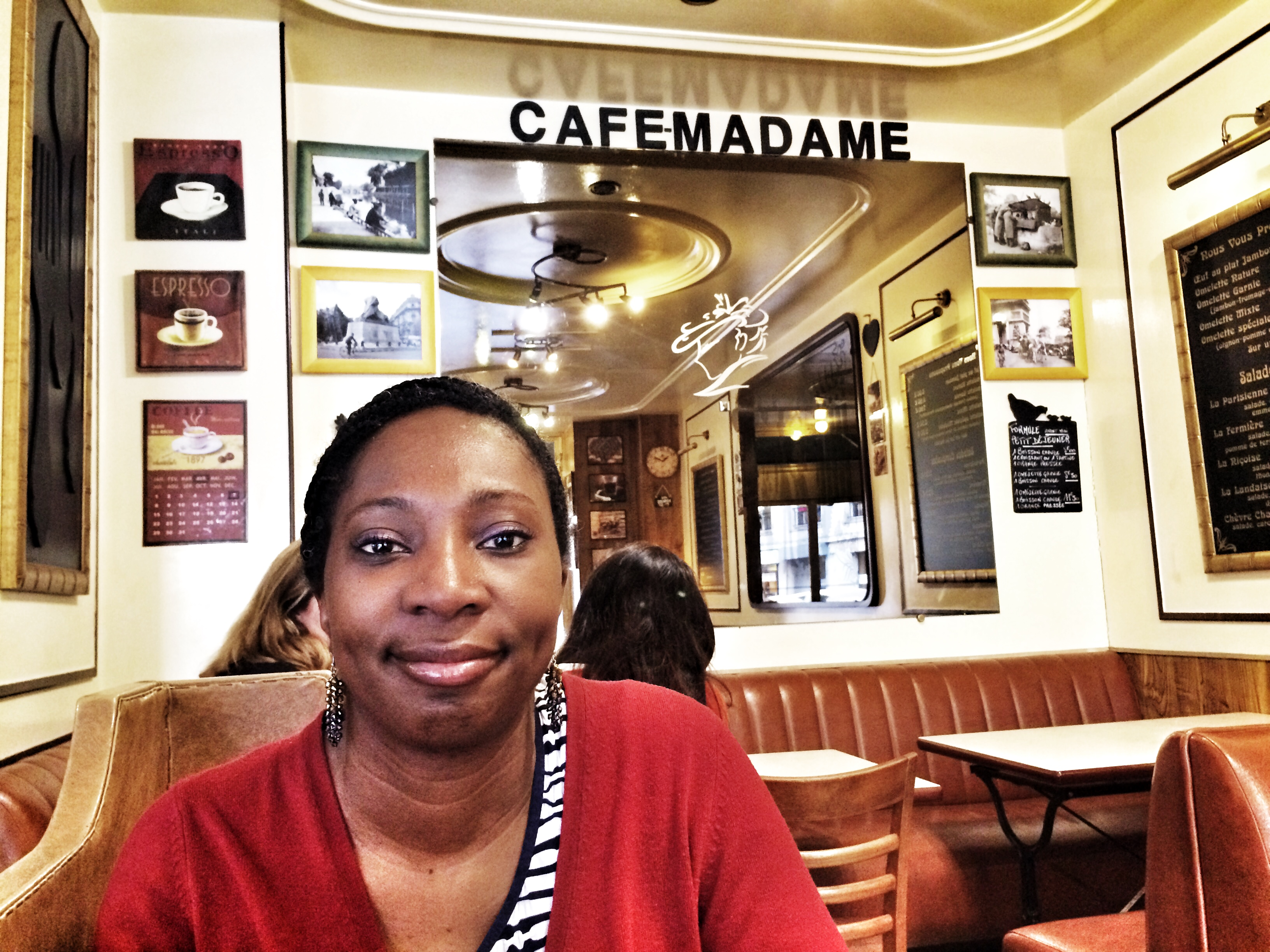 Cafe Madame - a fantastic cafe near Saint Sulpice in Paris, France
