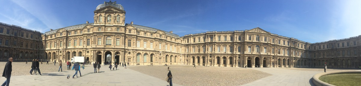 Pano at The Louvre, Paris, France