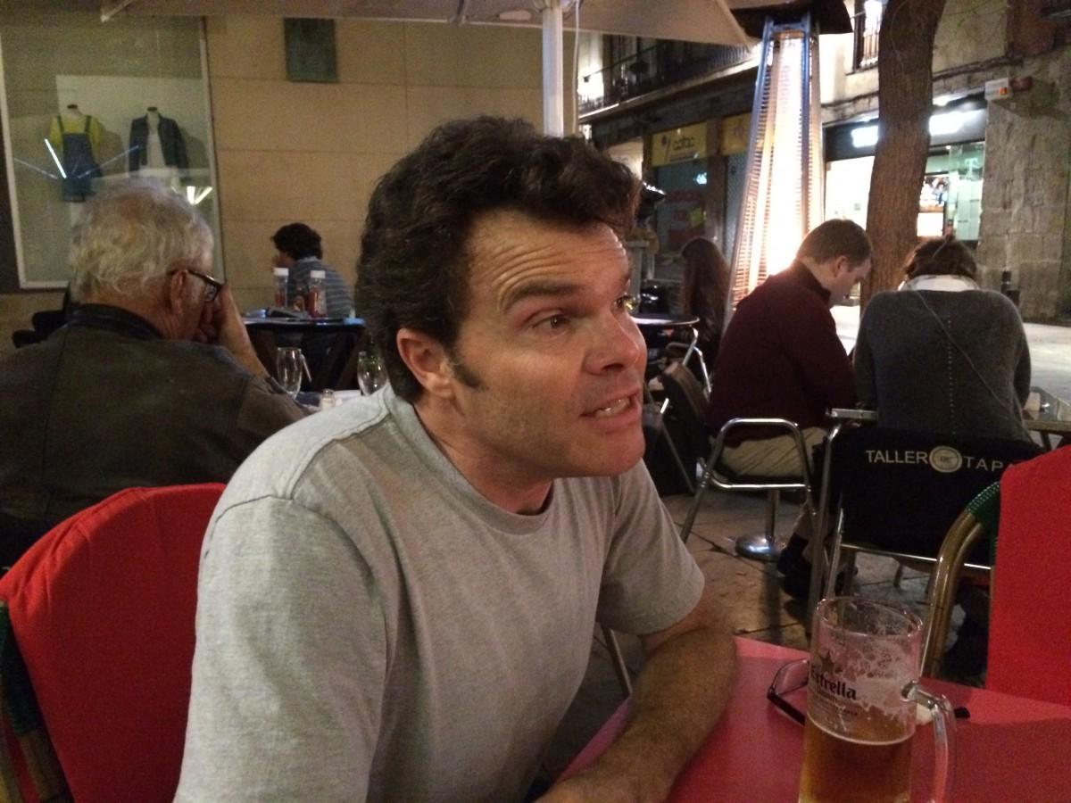 Russel Shearer in Barcelona, El Bourne