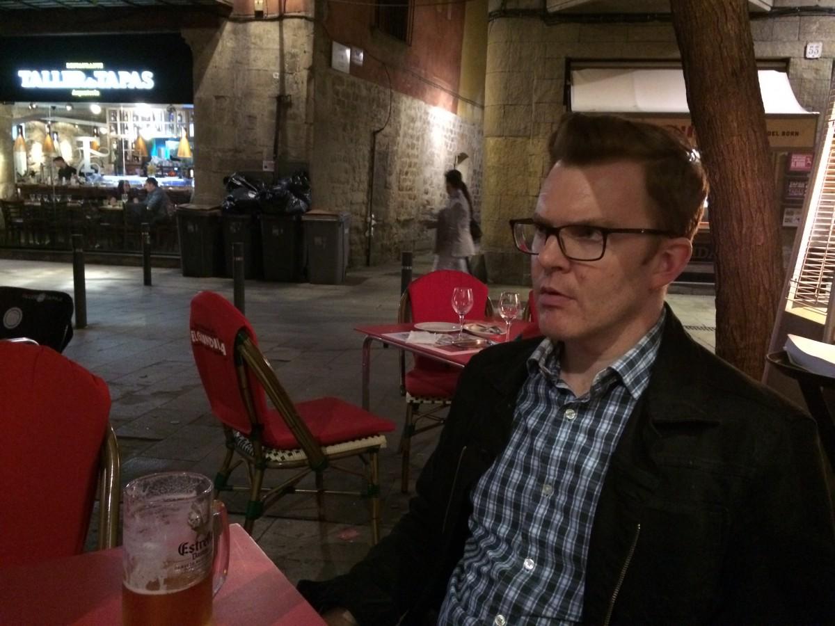Ed Shearer in Barcelona, El Bourne