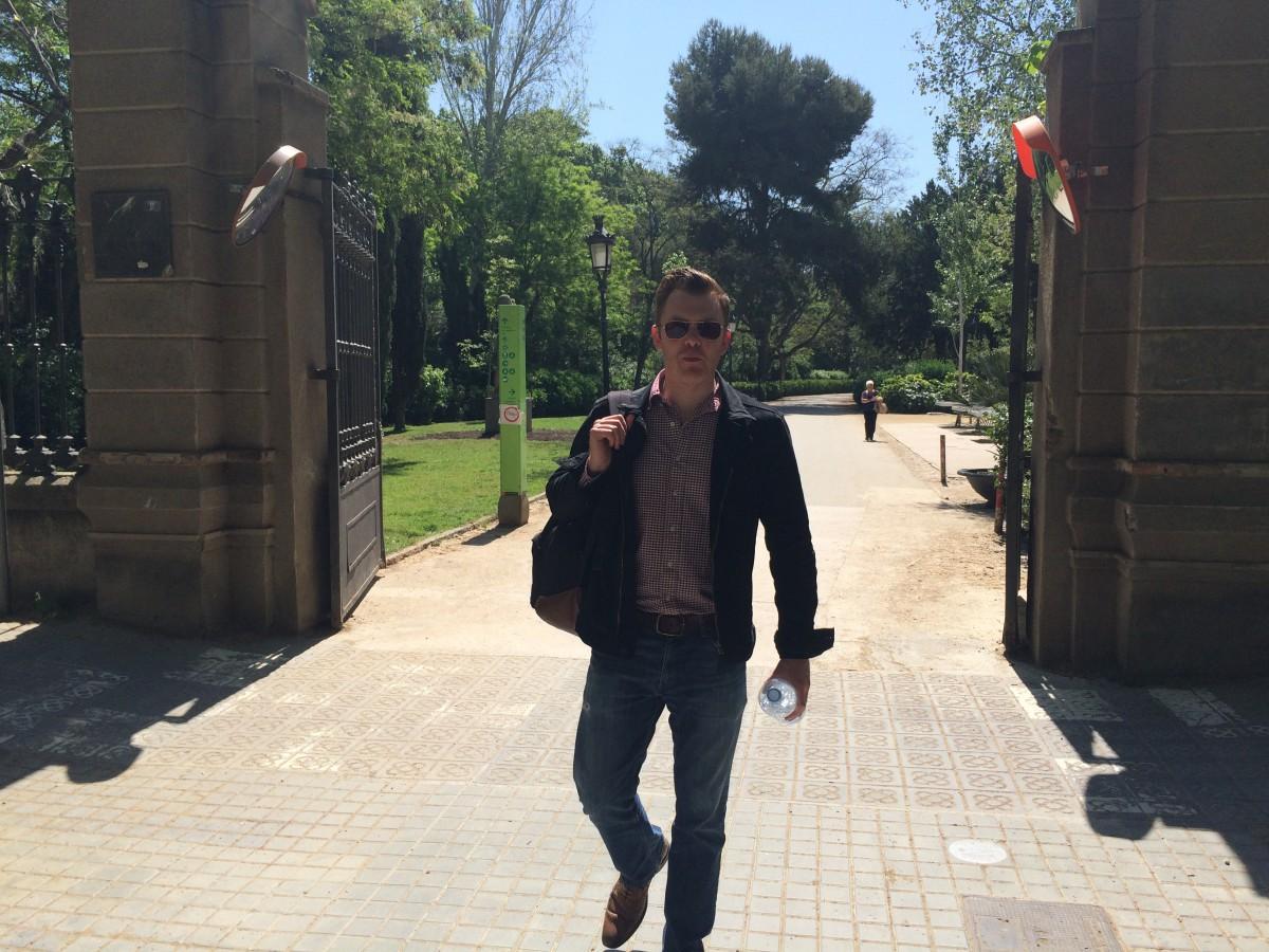 Ed Shearer, Barcelona, Parc de la Cuitadela