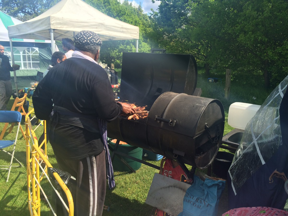 Barbecue at Tooting Bec, summer 2015