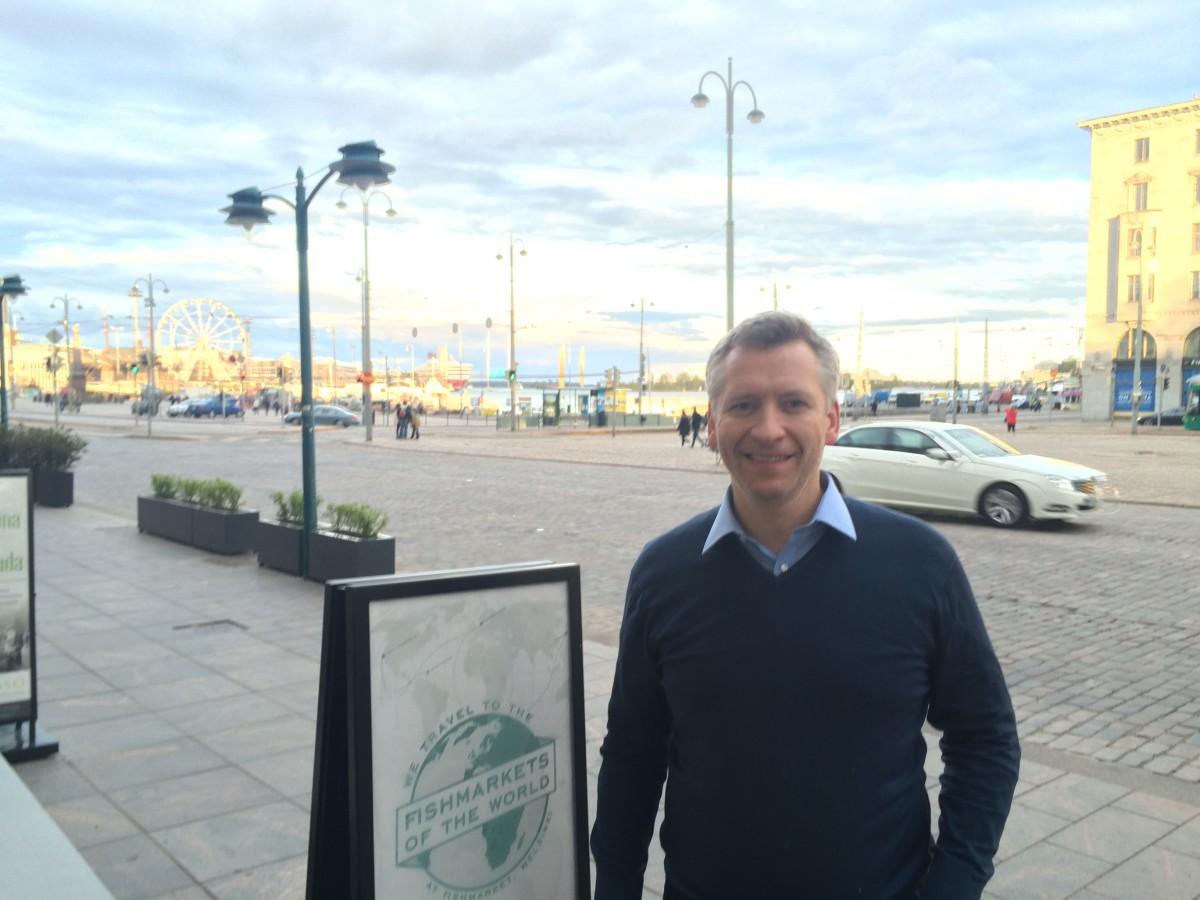 Anthony Sullivan in Helsinki