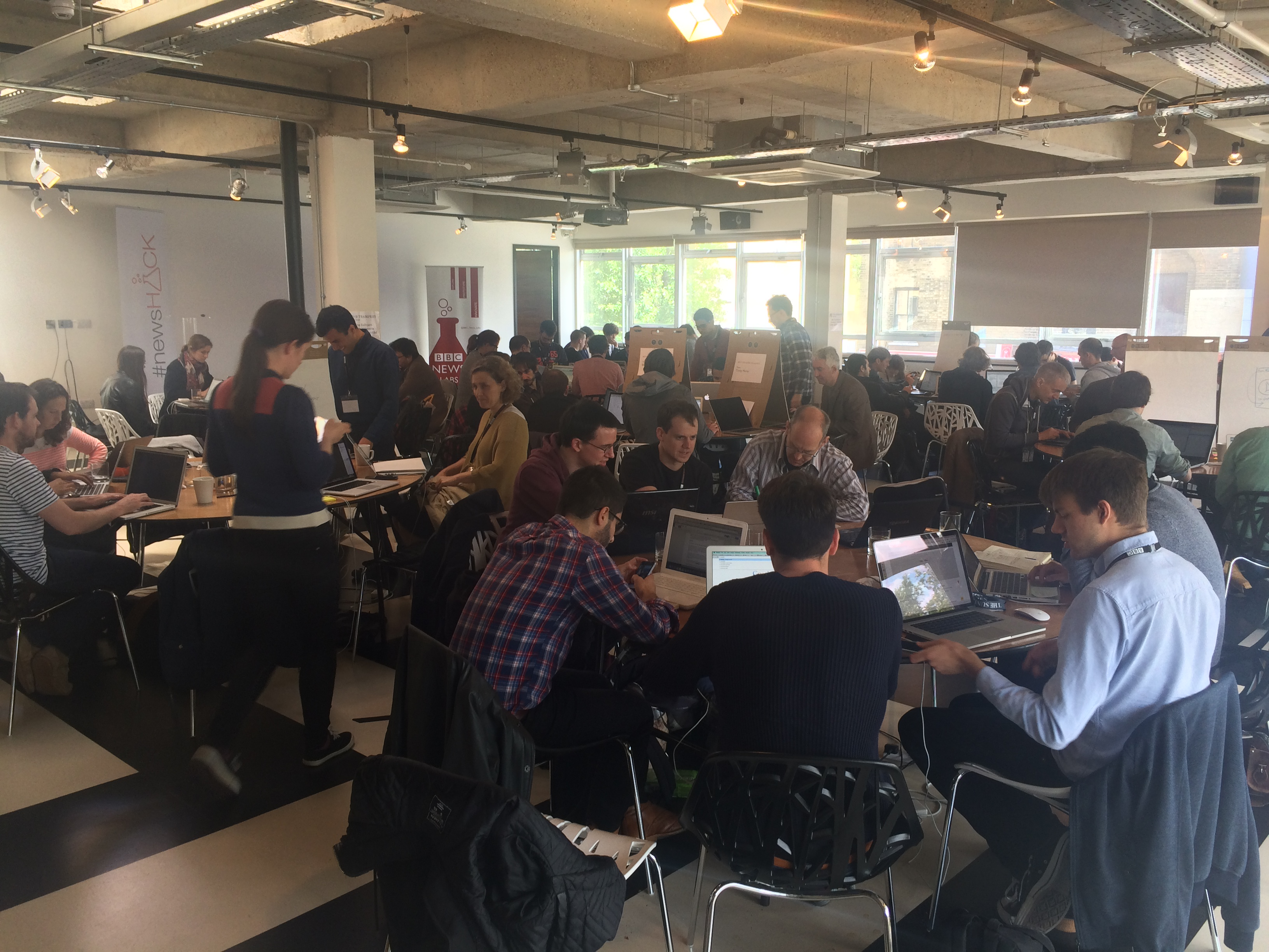 #newsHACK London 2015 - The News Industry Accelerator