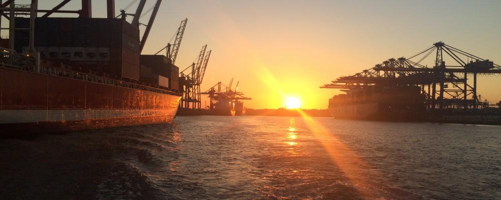 Hamburger Hafen - Hamburg Port - Germany
