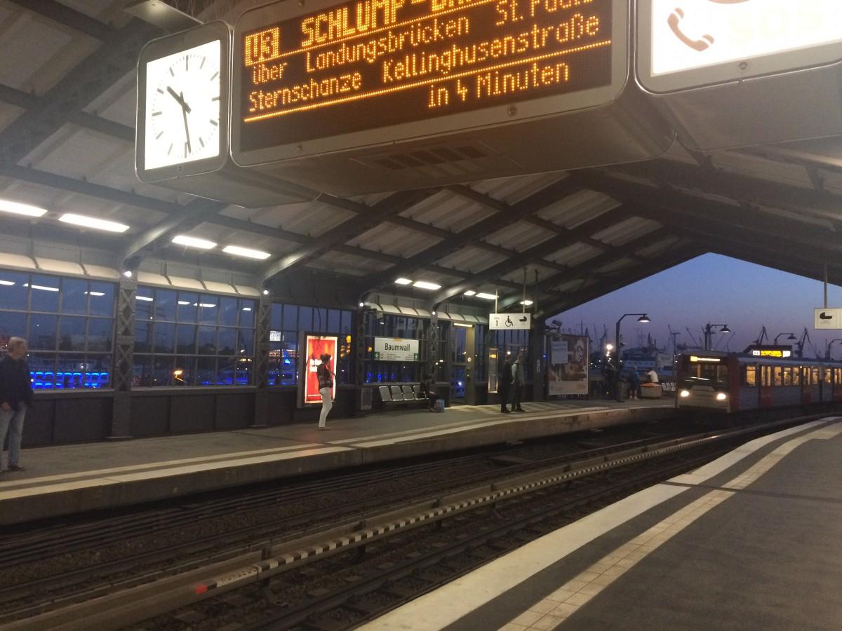 Station at Hamburg Harbour