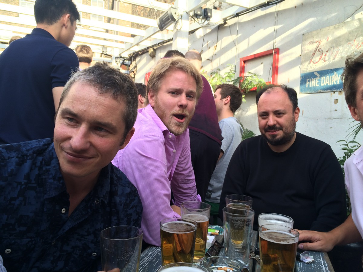 Rob Hall, Silas, John