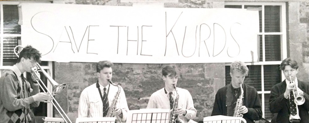OSJO save the Kurds gig in Oundle