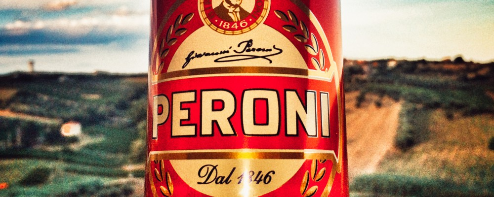 Best beer ever - Red Peroni
