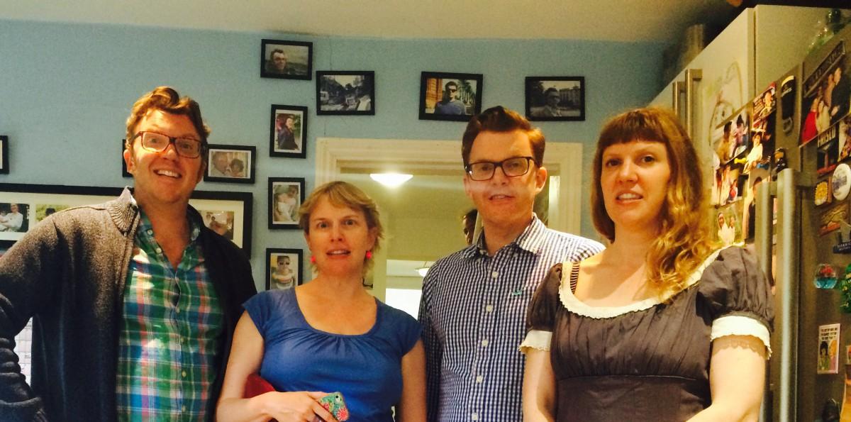 Matt, Amy, Ed & Virginia Shearer