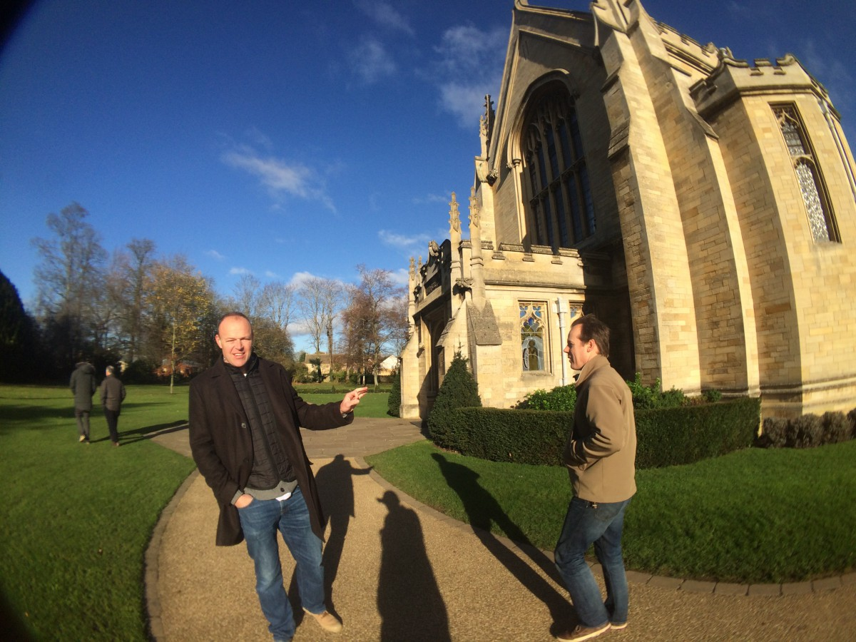 The Chapel - sadly locked on Saturday...