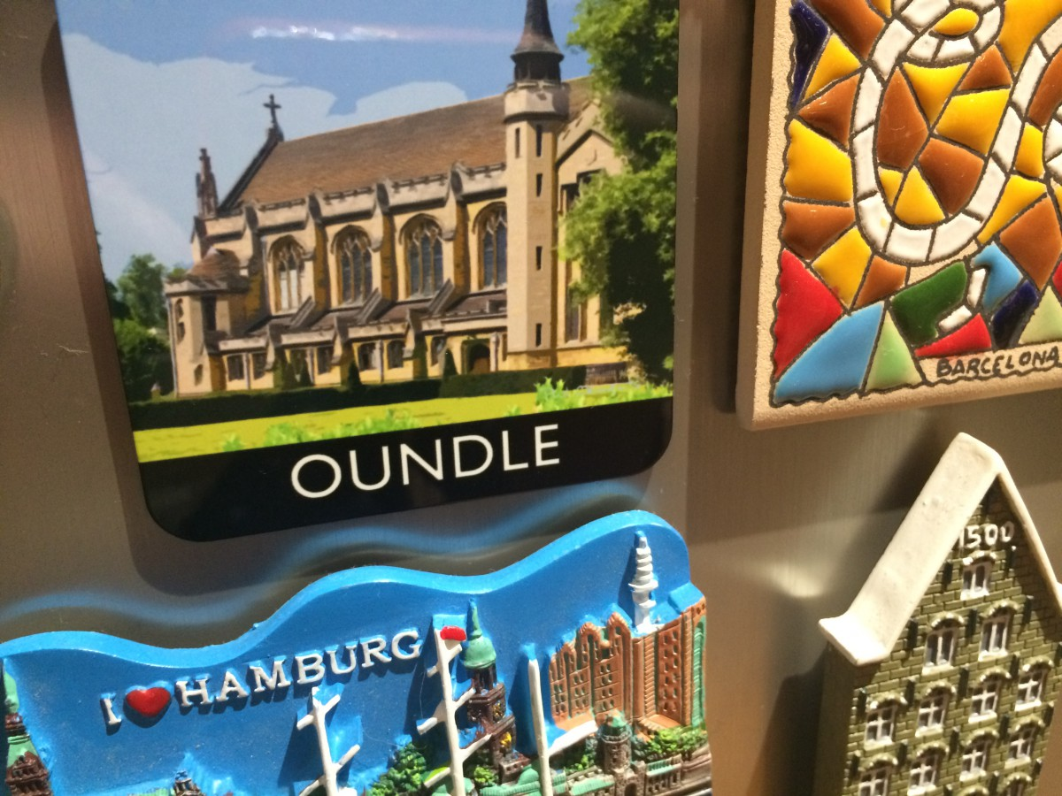 Oundle Fridge Magnet