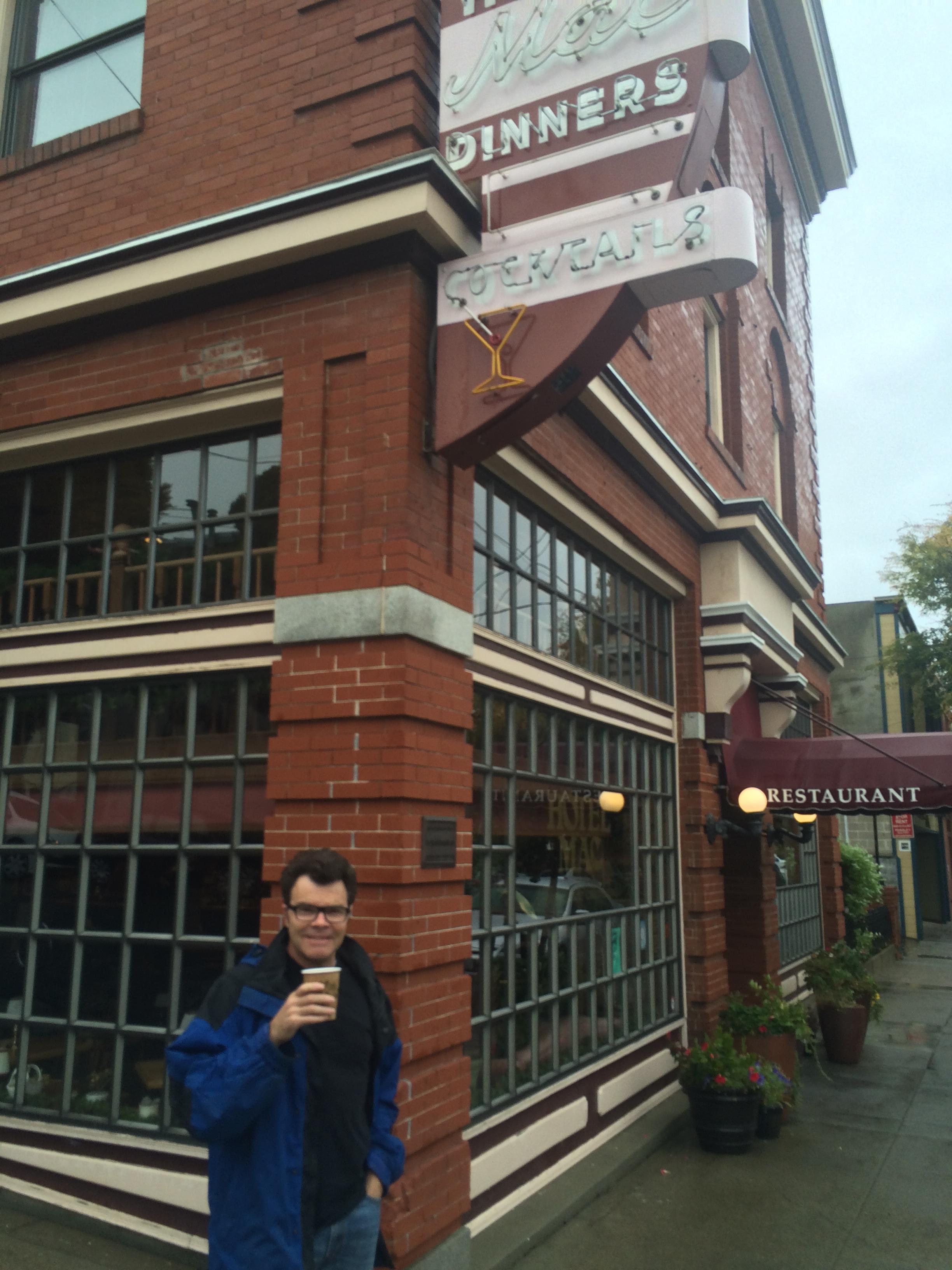 Coffee in Point Richmond